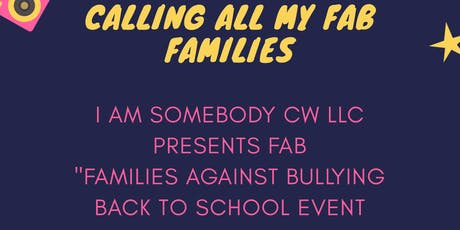 I AM SOMEBODY PRESENTS FAB tickets