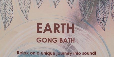 Earth Gong Bath tickets
