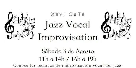 Jazz Vocal Improvisation entradas