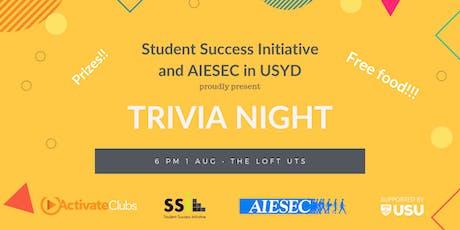SSI x AIESEC Trivia Night tickets