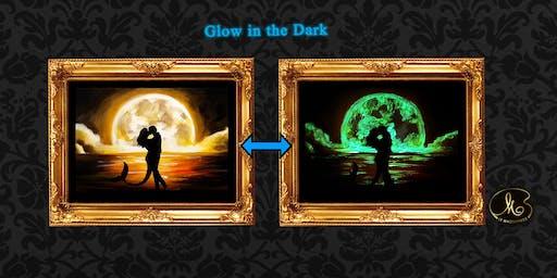 Glow in the Dark Sip & Paint: Mermaid Love