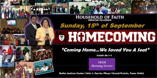 Household of Faith Christian Fellowship 2019 Homecoming