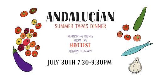Andalucían Summer Tapas Dinner