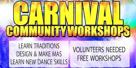 Carnival Community Dance Workshop tickets