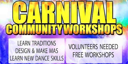 Carnival Community Dance Workshop