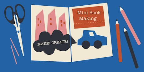 Mini Book Making for Kids! tickets