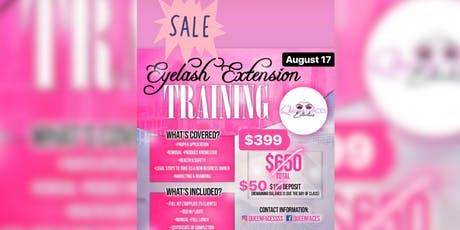 Eyelash Extension Training tickets