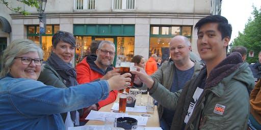 Brauhaus-Tour mit Musik und fünf Altbieren.