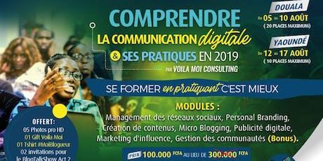 Comprendre la communication digitale et ses pratiques en 2019 billets