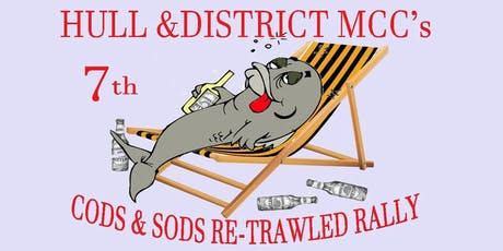 HDMCC's 7th Cods and Sods Retrawled Rally tickets