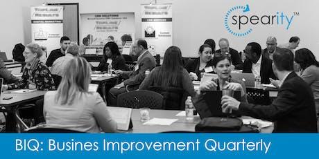 SPEARity™ Business Improvement Quarterly (BIQ) Q3 tickets