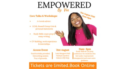Empowered by Vee (Miss Varz) tickets