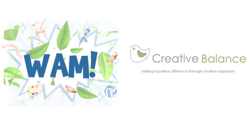 Creative Balance WAM Family Art Workshops for children 4-11 years
