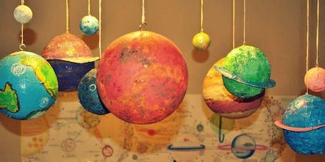 Papier-Mache Planets Southwater Library (two session activity, please book both sessions) tickets