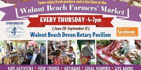 Walnut Beach Farmers Market tickets