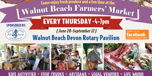 Walnut Beach Farmers Market