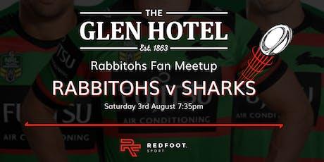 South Sydney Rabbitohs Fan Meetup - Rabbitohs v Sharks at the Glen Hotel tickets
