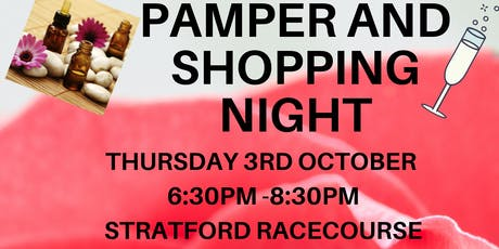 Pamper and stalls night tickets