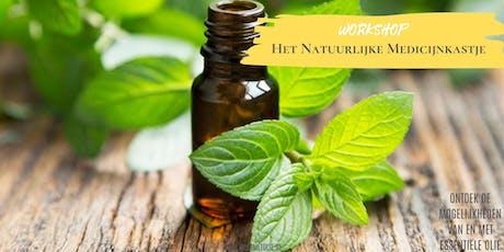Het Natuurlijke Medicijnkastje Essentiële Olie Introductie workshop ¤ tickets