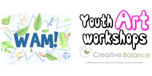 WAM Youth Art Workshops with Creative Balance