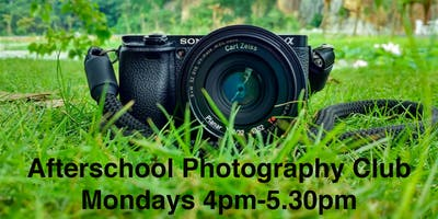 AFTER SCHOOL PHOTOGRAPHY CLUB (Sept-Dec) 8-14 year olds - Plympton Plymouth