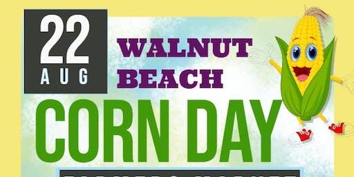 Corn Day at Walnut Beach Farmers Market