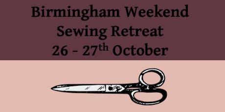 Sewing weekend retreat at Birmingham University tickets