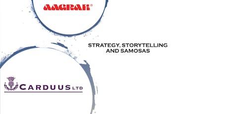 Strategy, Storytelling and Samosas tickets