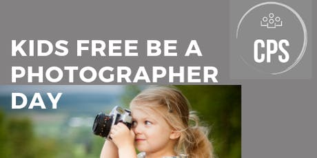 Kids Free Be A Photographer Day a Photography studio tickets
