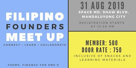 Filipino Founders Meet Up for Entrepreneurs and Aspiring Entrepreneurs tickets