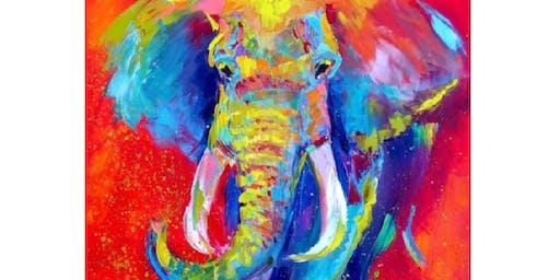 Abstract Elephant - Boardwalk Bar and Nightclub