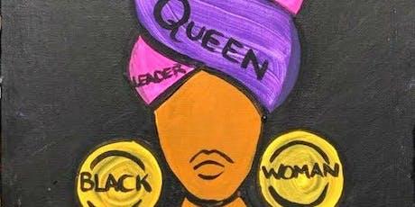 Black Girl Magic ~ Paint & Sip tickets