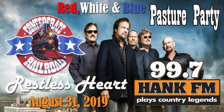 99.7 HANK FM's Red, White and Blue Pasture party tickets