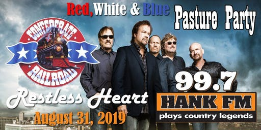 99.7 HANK FM's Red, White and Blue Pasture party