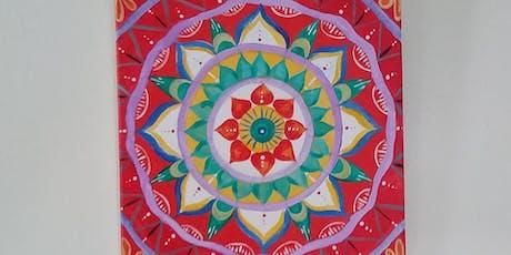 Mandala Painting - Windhorse Healing Arts Center Fundraiser tickets