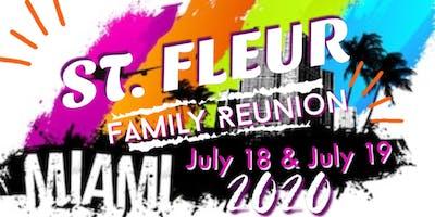 St. Fleur Family Reunion