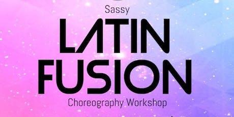 Sassy Latin Fusion Choreography Dance Workshop tickets