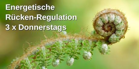Energetische Rücken-Regulation - Selbst-Diagnostik + Selbst-Regulation Tickets