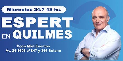 Jose Luis Espert en Quilmes
