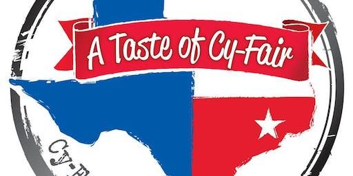 A Taste of Cy-Fair 2019                  (www.ATasteofCyFair.com, #ATasteOfCyfair.com)