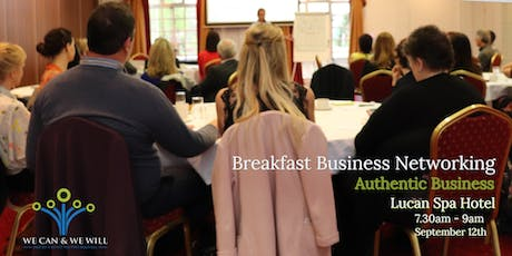We Can and We Will Business Breakfast tickets