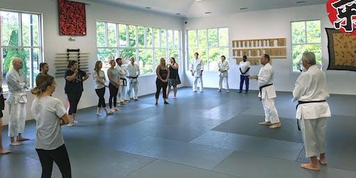 Self Defense Class - Oct 19, 2019