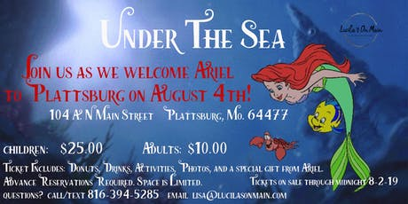 Under The Sea- Princess Event tickets