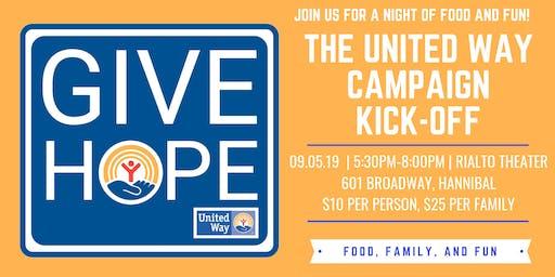 United Way Campaign Kick-Off