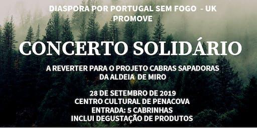 Concerto Solidário - Projecto Cabras Sapadoras da Aldeia de Miro