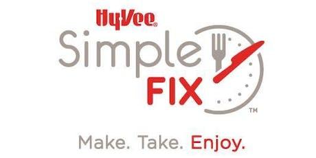 Simple Fix Freezer Meal Class tickets