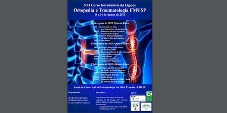 XXI Curso Introdutório da Liga de Ortopedia e Traumatologia FMUSP ingressos