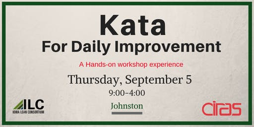 Kata for Daily Improvement