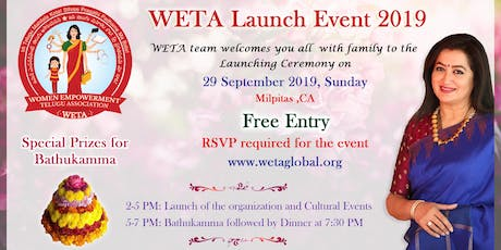 Launch of Women Empowerment Telugu Association tickets