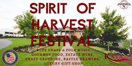 4th Annual Spirit of Harvest Festival tickets